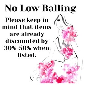 Please Do Not Low Ball